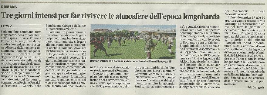 05 - Messaggero Veneto - 13 maggio 2015