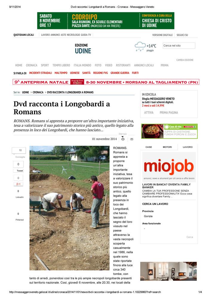 23 - Messaggero Veneto 1 novembre 2014-1