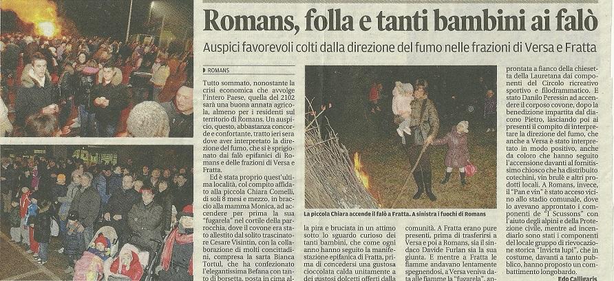 5 gennaio 2012 - Messaggero Veneto (1)