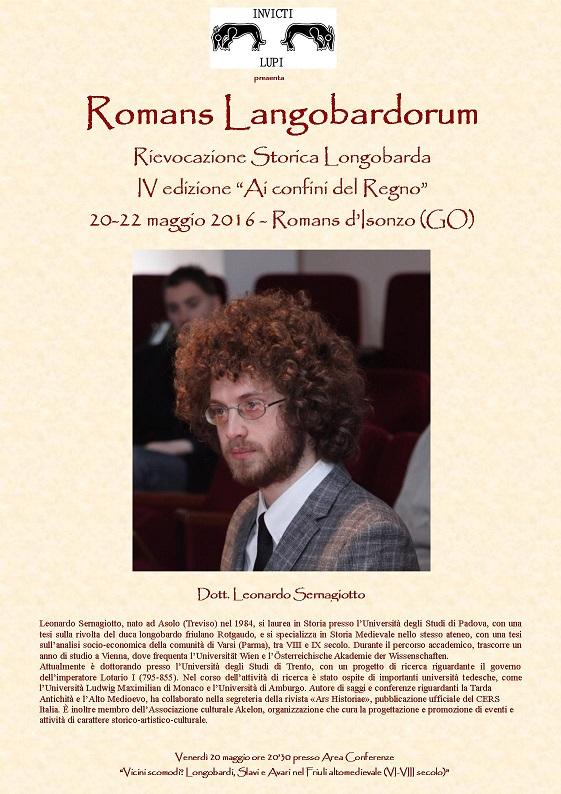 presentazione Leonardo Sernagiotto