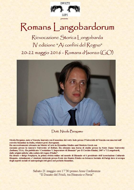 presentazione Nicola Bergamo