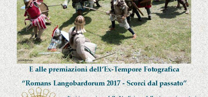"""Presentazione cortometraggio """"Invicti Lupi"""" e premiazioni extempore fotografica """"Romans Langobardorum 2017"""""""